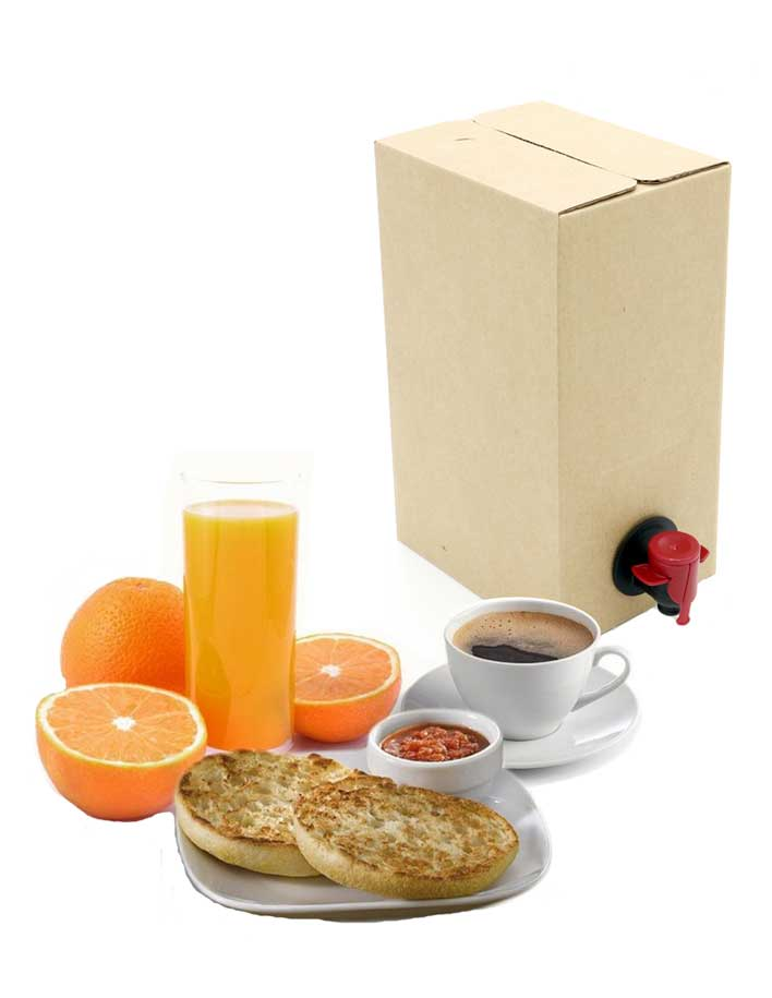 bag in box para catering